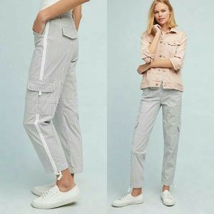 Anthropologie Terrain Cropped Utility Pants